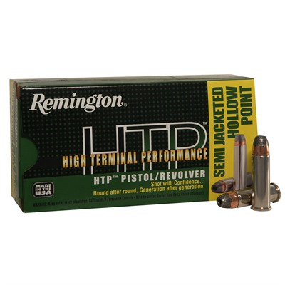 Remington High Terminal Performance Ammo 38 Special p 125gr Semi Jhp 38 Special p 125gr Semi Jacketed Hollow Point 50/Box