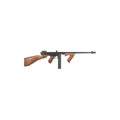 Image of Auto Ordnance 1927a-1 Deluxe Detachable Buttstock 16.5in 45 Acp Blue 30+1rd