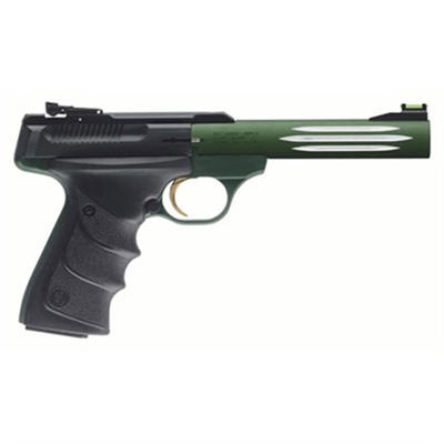 Browning Buck Mark Challenge 5.5in 22 Lr Matte Green Adj Rear 10+1rd