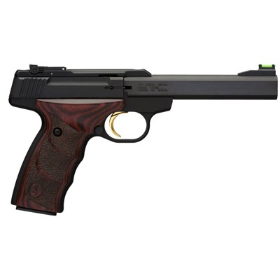 Browning Buck Mark Plus Udx 5.5in 22 Lr Rosewood Fs: Fo/Rs: Adj 10+1rd