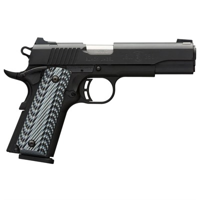 1911-380 Pro 4.25in 380 Auto Black G10 Grips 3 Dot Fixed 8+1rd.