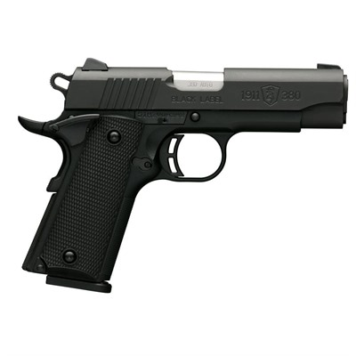 Browning 1911-380 3.625in 380 Auto Matte Black 8+1rd