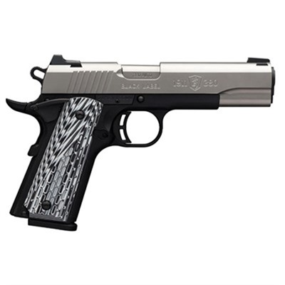1911-380 Pro 4.25in 380 Auto Black G10 Grips Night Sights 8+1rd - 1911-380 Pro 4.25in 380 Auto Matte
