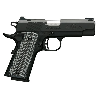 1911-380 Pro 3.625in 380 Auto Black G10 Grips Night Sights 8+1rd - 1911-380 Pro 3.625in 380 Auto Mat