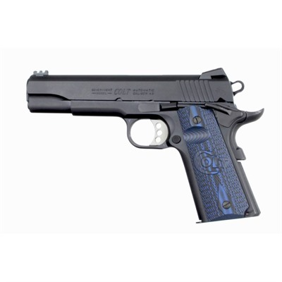 Colt Competition Government 5in 45 Acp Blue 8+1rd