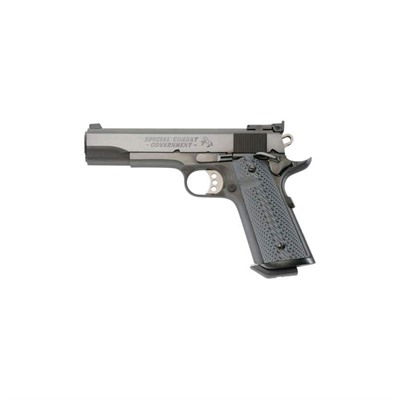 Colt Special Combat Government Adjustable 5in 45 Acp Blue 8+1rd