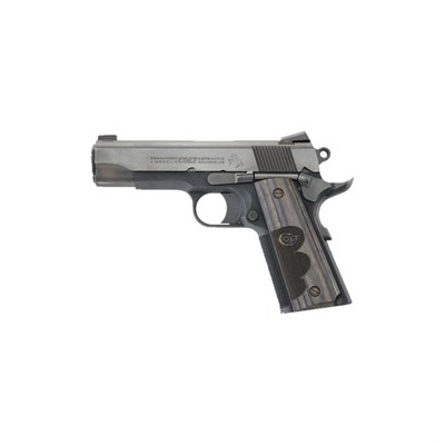 Colt Wiley Clapp Commander 4.25in 45 Acp Blue 8+1rd