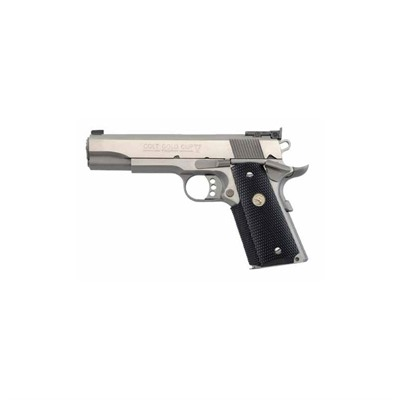 Colt Gold Cup Trophy 5in 45 Acp Stainless 8+1rd