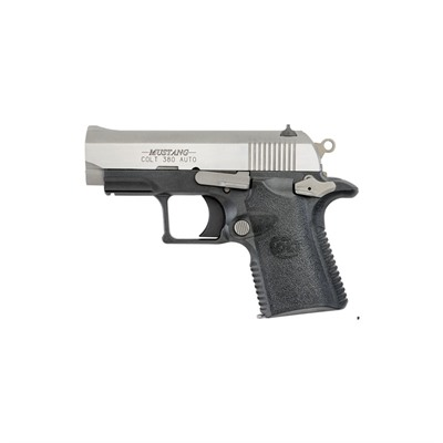 Colt Mustang 2.75in 380 Auto Brushed Stainless 6+1rd