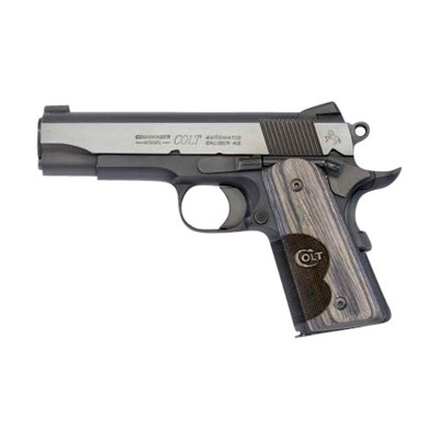 Colt Wiley Clapp Cco 4.25in 45 Acp Blue 6+1rd