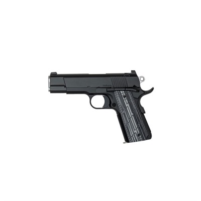 Cz Usa Dan Wesson Valkyrie Commander 4.25in 45 Acp Matte Black 8+1rd