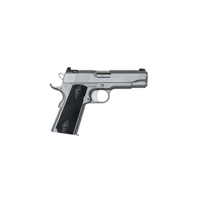 Cz Usa Valor Commander 4.25in 45 Acp Matte Stainless 8+1rd