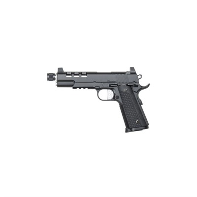 Cz Usa Discretion 5in 45 Acp Matte Black 8+1rd