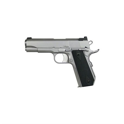 Cz Usa V-Bob 4.25in 45 Acp Matte Stainless 8+1rd