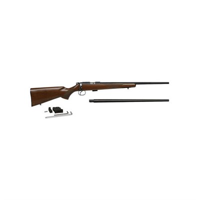 Cz Usa 455 American Combo 20.5in 22 Lr | 17 Hmr Blue 5+1rd