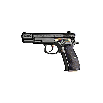 Cz Usa Cz 75b 40th Anniversary 4.7in 9mm Black Polycoat 16+1rd