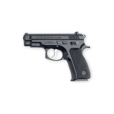 Cz Usa Cz 75 Compact 3.9in 9mm Black Polycoat 14+1rd