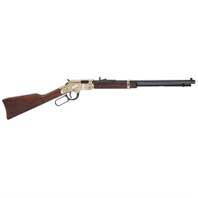 Henry Repeating Arms Goldenboy Dlx Engraved 3rd Ed. 20in 22 Lr Blue 15 1rd Goldenboy Dlx Engraved 3rd Ed. 20in 22 Lr Blue 15 1