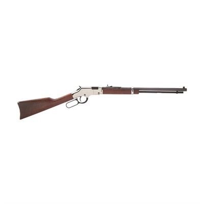Henry Repeating Arms Golden Boy Silver 20in 22 Lr Blue 16 1rd Golden Boy Silver 20in 22 Lr Blue 16 1