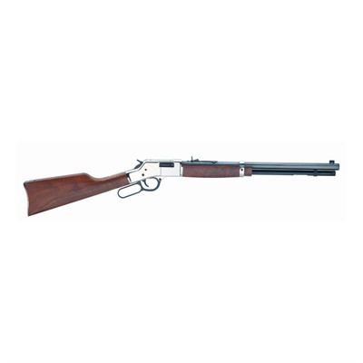 Henry Repeating Arms Big Boy Silver 20in 357 Magnum 38 Special Blue 10 1rd Big Boy Silver 20in 357 Magnum 38 Special Blue 10 1 USA & Canada