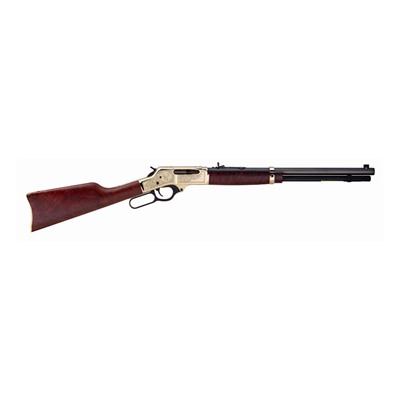 30-30 Lever Brass Wildlife 20in 30-30 Winchester Blue 5+1rd.