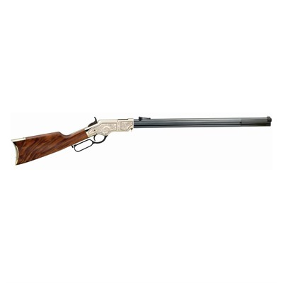 Henry Repeating Arms Original Bth Dlx/Engvd Octagon 24.5in 44 40 Win Blue 13 1rd Original Bth Dlx/Engvd Octagon 24.5in 44 40 Winchester Blue