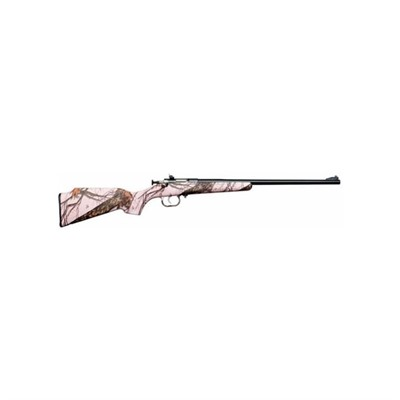 Keystone Sporting Arms, Llc 100-402-886 Crickett 16.25in 22 Lr Blue Pink Blaze Camo 1rd