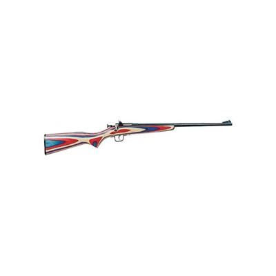 Keystone Sporting Arms, Llc 100-402-912 Crickett 16.125in 22 Lr Red/White/Blue Open Rifle Sights 1rd