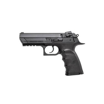 Baby Eagle Ifull Size 4.4in 40 S&w Polymer White 3 Dot 13+1rd.