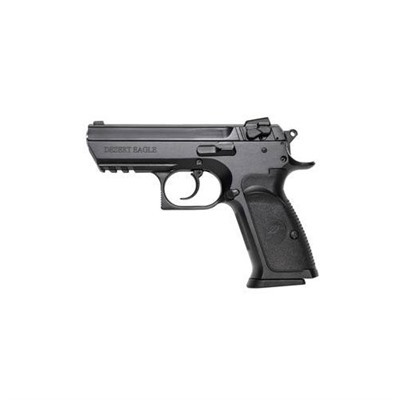 BABY EAGLE ISEMI-COMPACT 3.9IN 9MM POLYMER WHITE 3 DOT 10+1RD