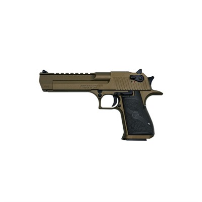 Desert Eagle 6in 50 Ae Burnt Bronze Cerakote 7+1rd.