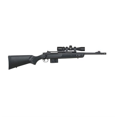 Mossberg Mvp Scout W/ Scope 16.25in 308 Win Ghost Ring 10 1rd Mvp Scout W/ Scope 16.25in 308 Win Ghost Ring 10 1