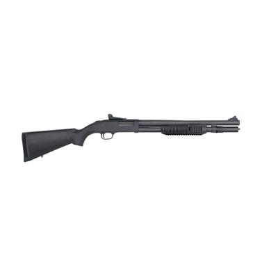 Mossberg 590a1 Mil Spec 18 5in 12 Ga Parkerized Black Ghost Ring 6 1rd 590a1 Mil Spec 18 5in 12 Ga Parkerized Black Ghost Ring 6 1