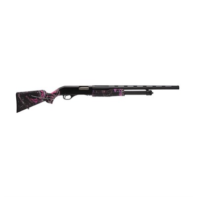 320 Field Pump Shotgun 26in 20 Ga Muddy Girl Camo Fo Bead 5+1rd.