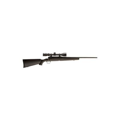 Axis Xp 22in 7mm-08 Rem Black Black Synthetic Scope 3x9 4+1rd.