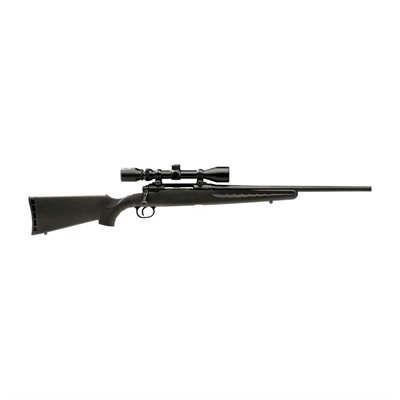 Axis Xp 20in 243 Win Matte Blue Black Synthetic Scope 3x9 4+1rd.