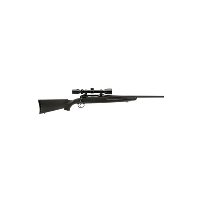 Axis Youth Dbm W/ Scope 20in 7mm-08 Rem Matte Blue Black  4+1rd.
