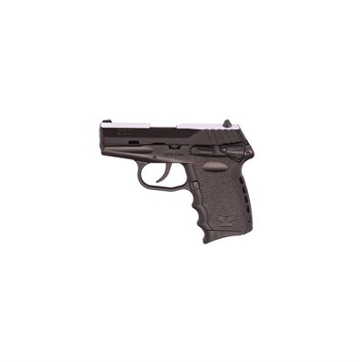 Sccy Industries, Llc Cpx-1 3.1in 9mm Black Nitride Black Polymer Fixed 3-Dot 10+1rd