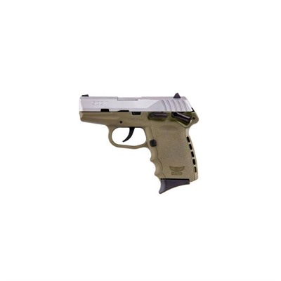 Sccy Industries, Llc Cpx-1 3.1in 9mm Stainless Fde Fixed 3-Dot 10+1rd
