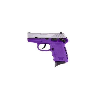 Cpx-1 3.1in 9mm Stainless Purple Polymer Fixed 3-Dot 10+1rd.