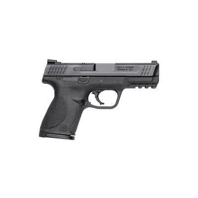 Smith & Wesson M&P45c 4in 45 Acp Black Melonite Black Polymer 3 Dot Fixed 8+1rd