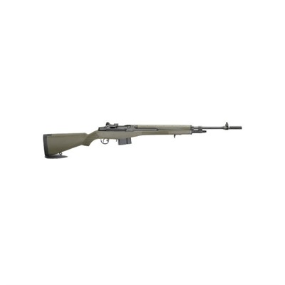 M1a Loaded 22in 308 Win Blue Green Polymer Aperture Sights 10+1rd.