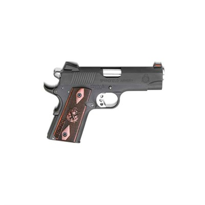 Springfield Armory Range Officer 4in 45 Acp Black 6 1rd Range Officer 4in 45 Acp Black 6 1