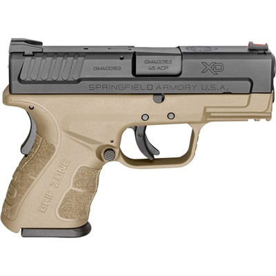 Springfield Armory Xd Mod.2 Sub-Compact 3.3in 45 Acp Black 9+1rd