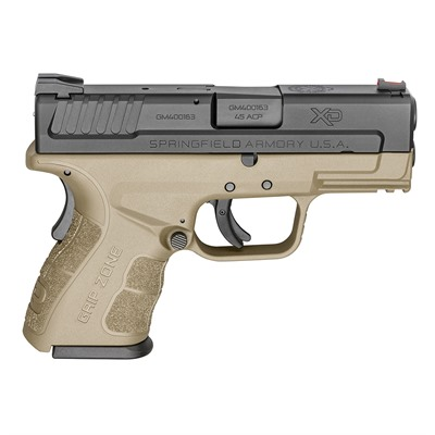 Springfield Armory Xd Mod.2 Sub-Compact 3.3in 45 Acp Black Fde 3 Dot Fixed 13+1rd