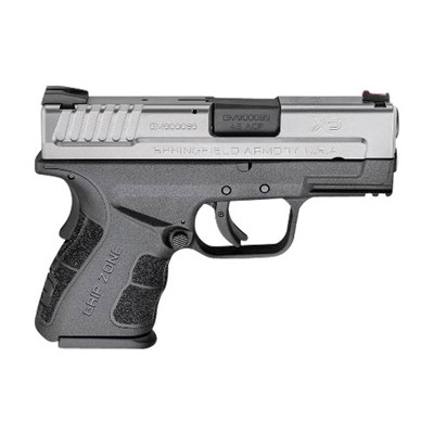 Springfield Armory Xd Mod.2 Sub-Compact 3.3in 45 Acp Melonite 10+1rd