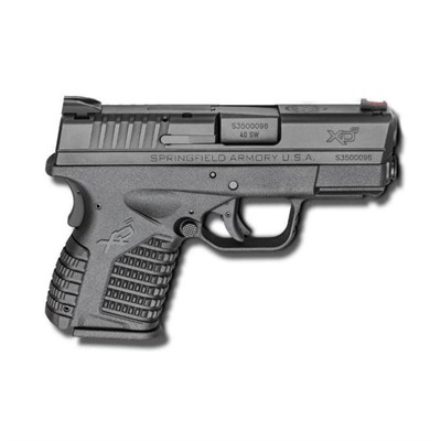 Springfield Armory Xd-S Essentials Package 3.3in 40 S&W Black 6+1rd