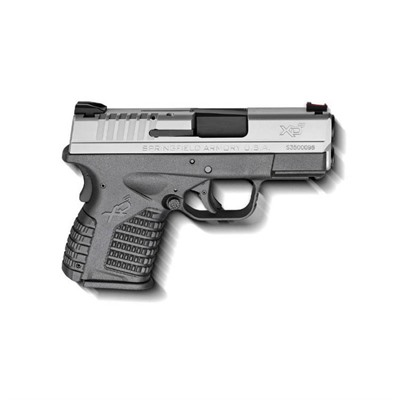 Springfield Armory Xd-S Essentials Package 3.3in 40 S&W Stainless 6+1rd