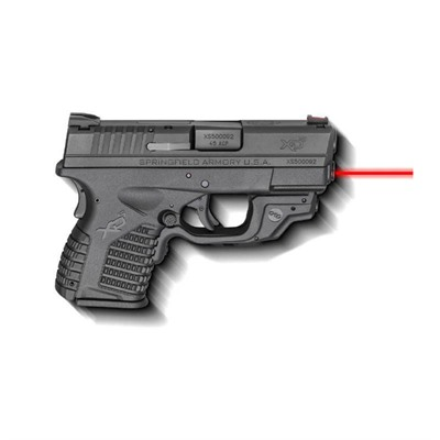 Springfield Armory Xd-S Laser Essentials Package 3.3in 45 Acp 3 Dot Fixed 6+1rd