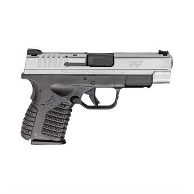 Springfield Armory Xd-S Essentials Package 4in 45 Acp Stainless 6+1rd